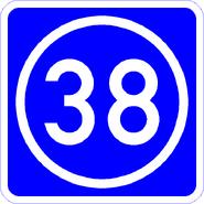 Knoten 38 blau
