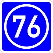 Knoten 76 blau