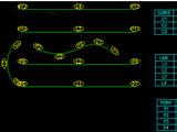 Curve table creator (AutoLISP application)