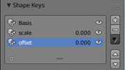 shape keys work like morph targets