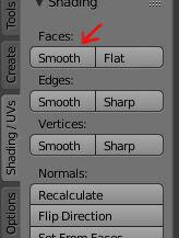 smoothing in Blender