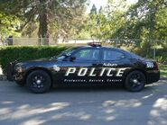 Dodge Charger Police Car