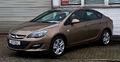Opel Astra Stufenheck 1.6 Edition (J, Facelift) – Frontansicht, 10. März 2013, Velbert