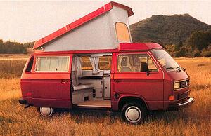 Red vanagon in field.jpg