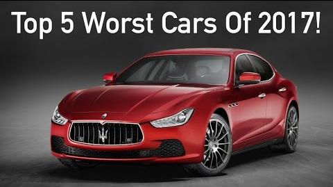 Top 5 WORST Cars of 2017 DO NOT BUY THESE!!!