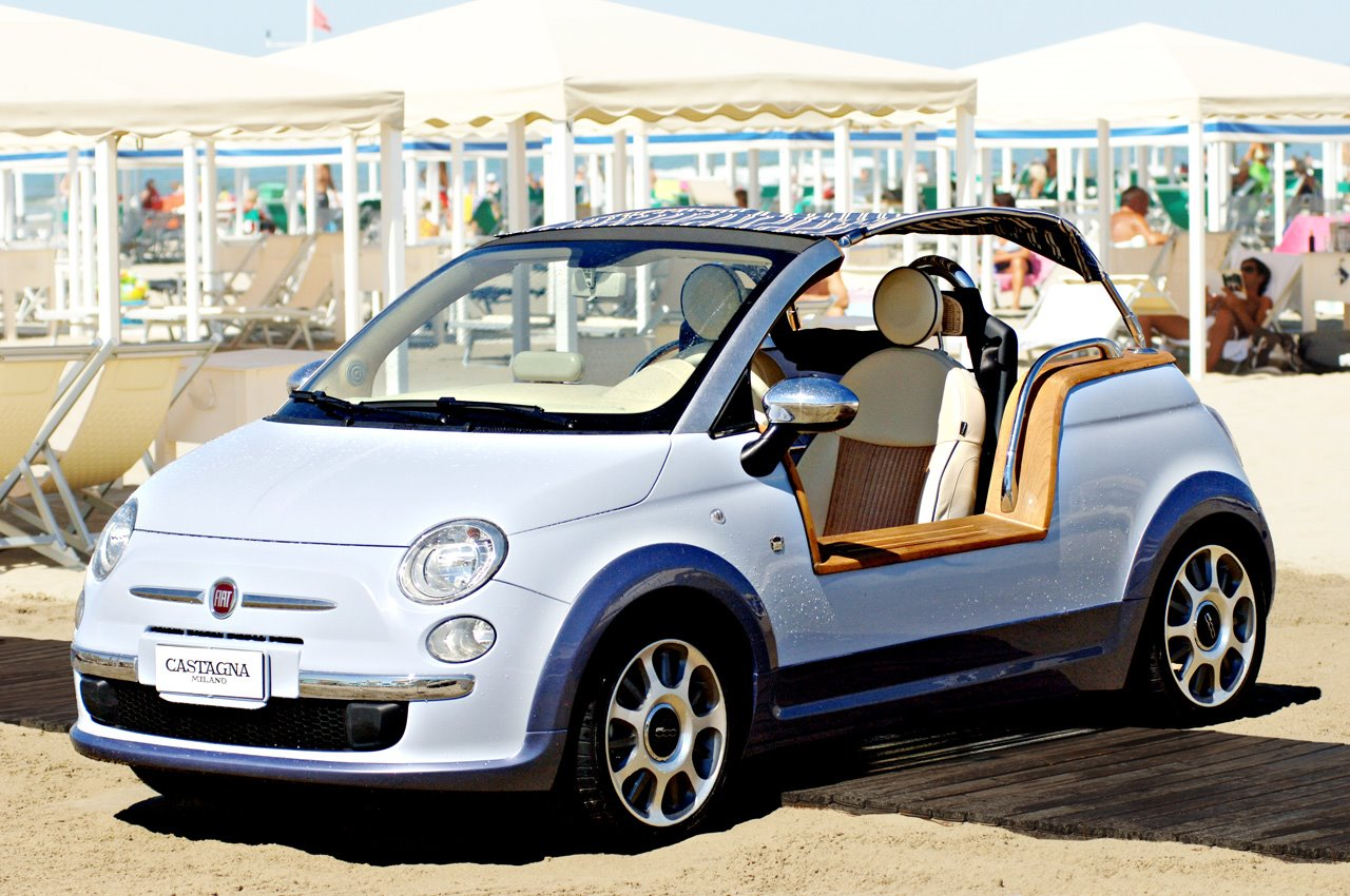 Fiat 500 Tender Two Concept