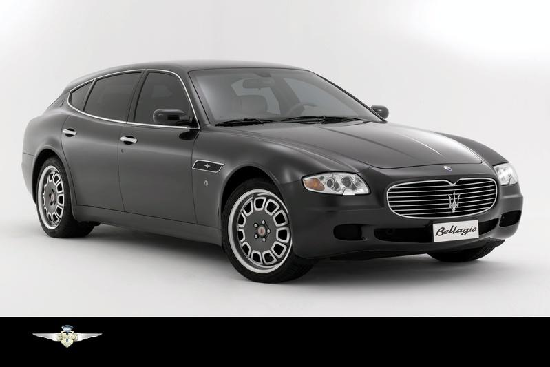 Maserati Quattroporte Bellagio Fastback Concept