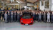 5,000th Lamborghini Aventador