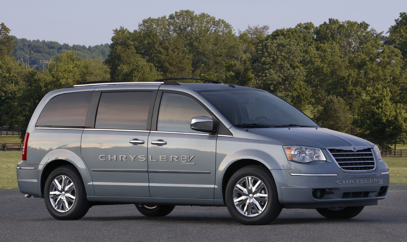 Chrysler Town and Country EV Prototype