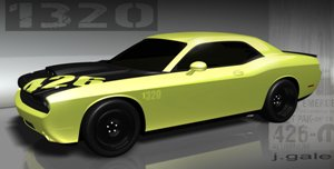 Dodge Challenger 1320 Concept