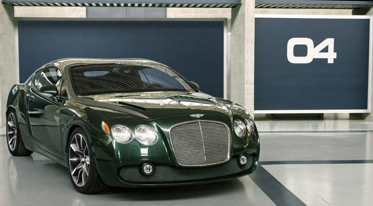 Bentley GTZ Zagato Concept