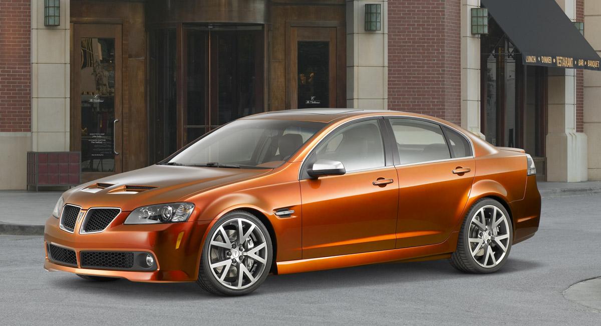 Pontiac G8 GT SEMA Edition Concept
