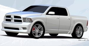 Dodge Ram Bianco Concept