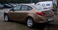 Opel Astra Stufenheck 1.6 Edition (J, Facelift) – Heckansicht, 10. März 2013, Velbert