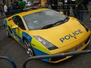 Lamborghini Gallardo British police 1
