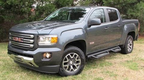 2015 GMC Canyon SLE All Terrain Start Up, Road Test, and In Depth Review
