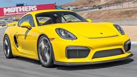 2016 Porsche Cayman GT4 Hot Lap! - 2015 Best Driver's Car Contender