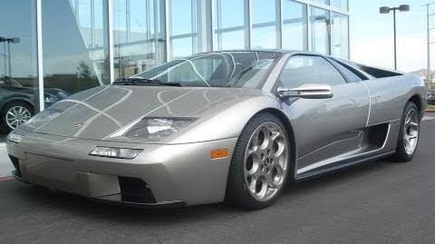 2001 Lamborghini Diablo 6.0 VT Start Up, Exhaust, and In Depth Review