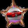 You are rewarded a Ferrari 458 Italia