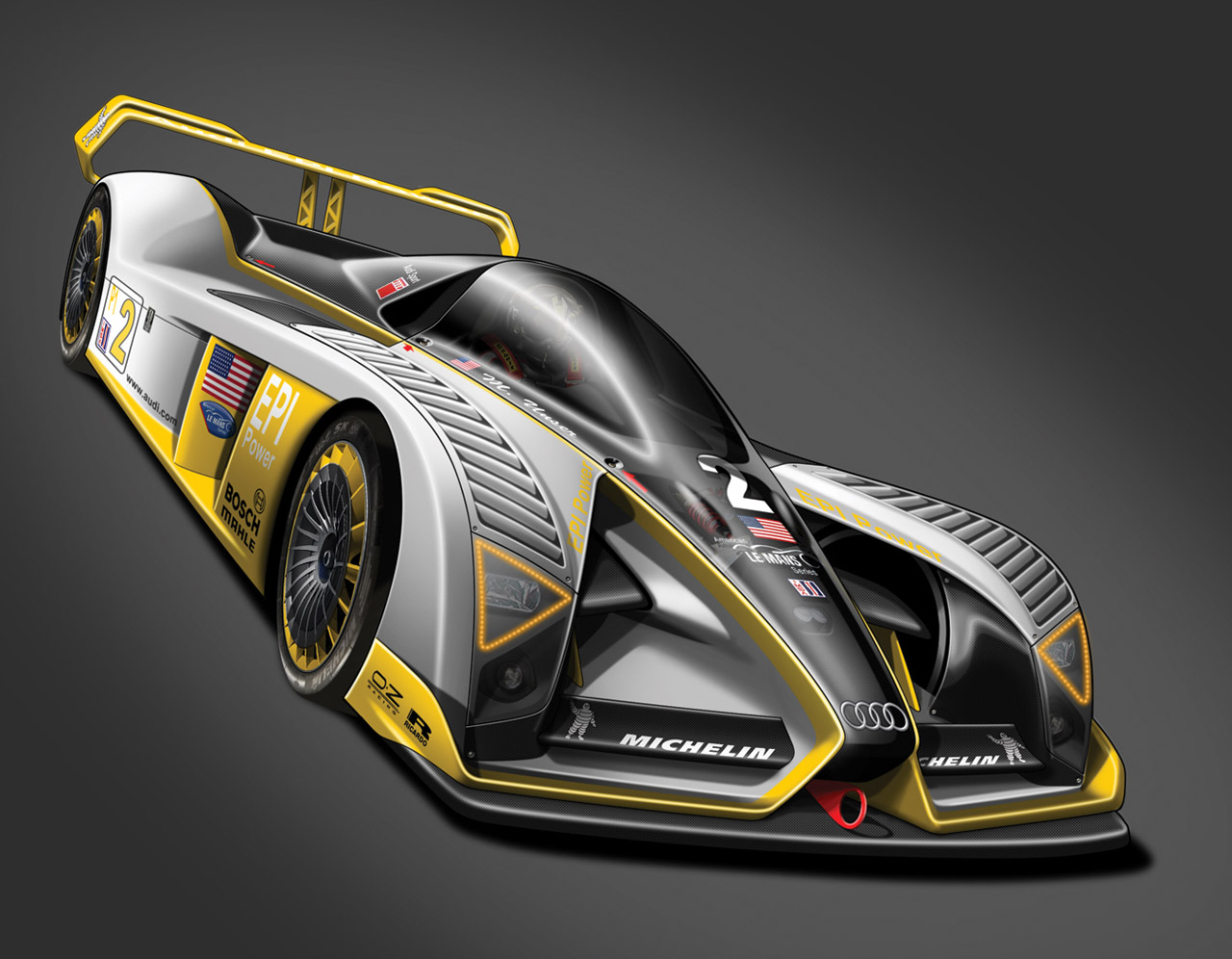 Audi R25 Concept