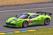 Krohn Racing's Ferrari 458 Italia Driven by Tracy Krohn, Niclas Jonsson and Michele Rugolo.jpg
