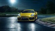 Porsche-cayman GT4-inthenight