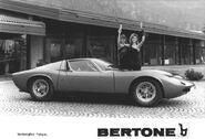 Lamborghini miura bw profiel press w models