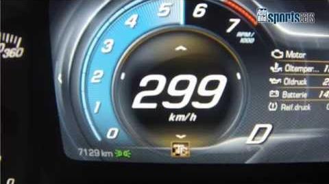 2015 Corvette Z06 - Top Speed Acceleration & Sound