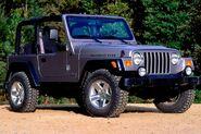 Bright Silver Metallic Clearcoat 2006 Jeep Wrangler Rubicon