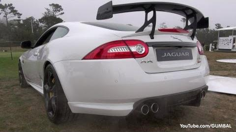 Jaguar XKR-S GT - Start up Exhaust Sound + Jaguar XFR-S