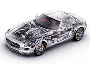 Mercedes-Benz-SLS AMG 2011 1600x1200 wallpaper 7c