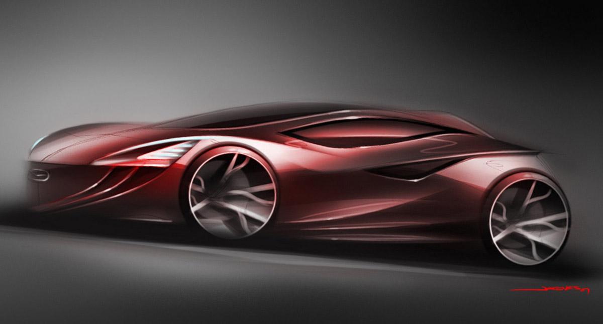 Mazda 2018 Mazda3 Concept