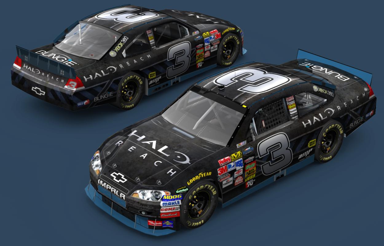 2010 NASCAR Sprint Cup Halo: Reach Chevy Impala SS