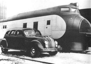 1934 Chrysler Airflow Streamliner