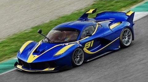 21 Different Ferrari FXX K Screaming Around Mugello Circuit!!