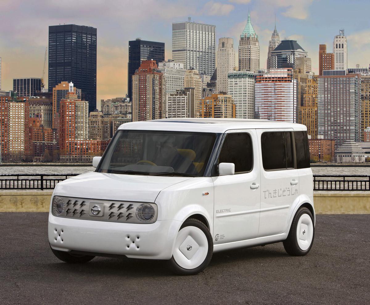 Nissan Denki Cube EV Concept