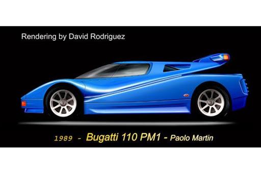 Bugatti 110 PM1