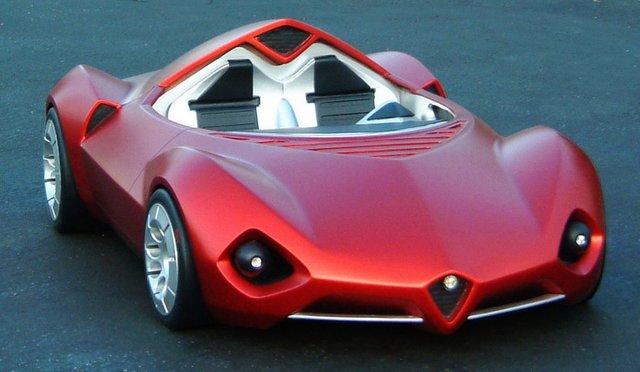 Alfa Romeo Disco Volante 2005 Concept