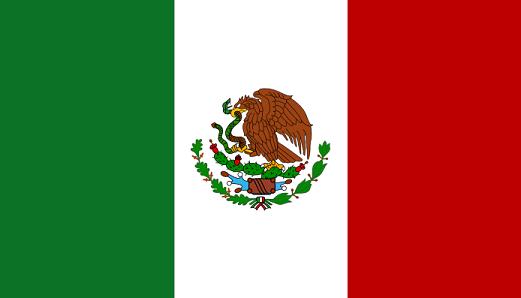 Country flag alias Mexico