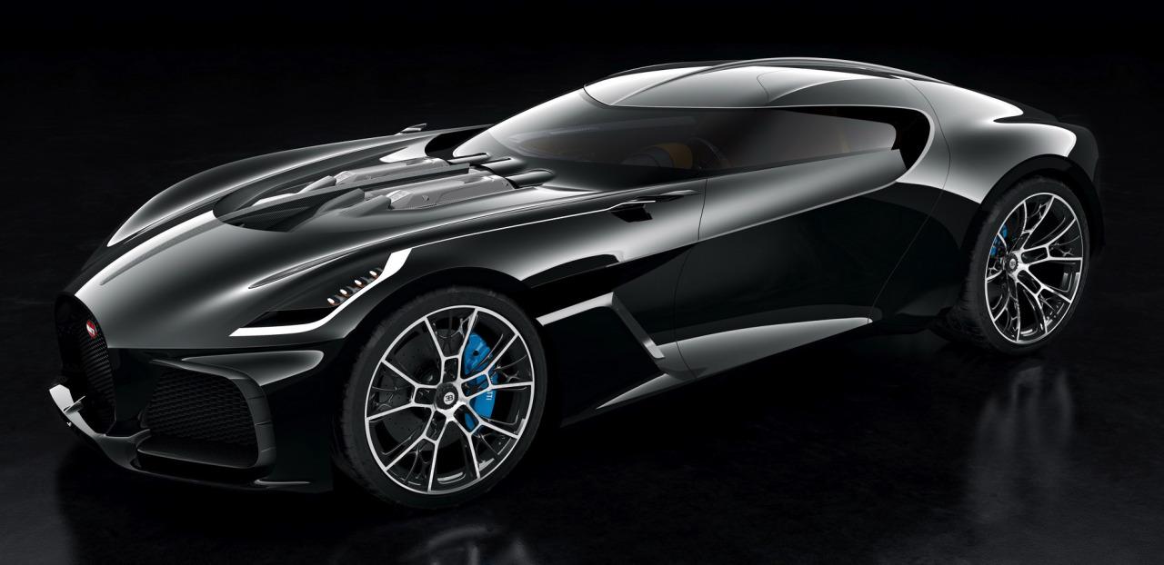 """Bugatti W16 Coupe """"Rembrandt"""""""