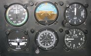 Six flight instruments