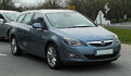 Opel Astra Sports Tourer 1.4 Turbo ECOTEC (J) – Frontansicht, 26. März 2011, Mettmann