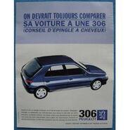 Publicite-papier-voiture-peugeot-306-de-1996-903142022 ML
