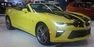 Chevrolet Camaro (sixth generation)