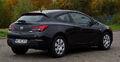 Opel Astra GTC 1.4 Turbo ecoFLEX Edition (J) – Heckansicht, 20. Oktober 2012, Heiligenhaus