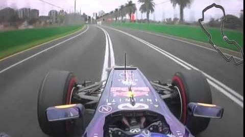 2013 - Onboard Albert Park - Sebastian Vettel - Red Bull