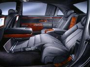 Maybach 62 reclined rear seat