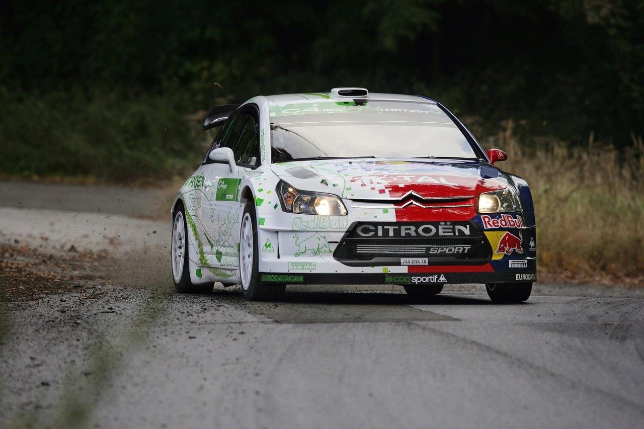 Citroën C4 WRC HYmotion4 Concept