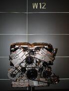 W12 Engine front