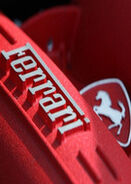 Ferrari logo emblem